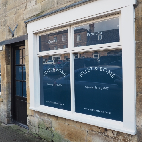 BRAMLEY ROAD GIRL - FILLET & BONE, CHIPPING CAMPDEN